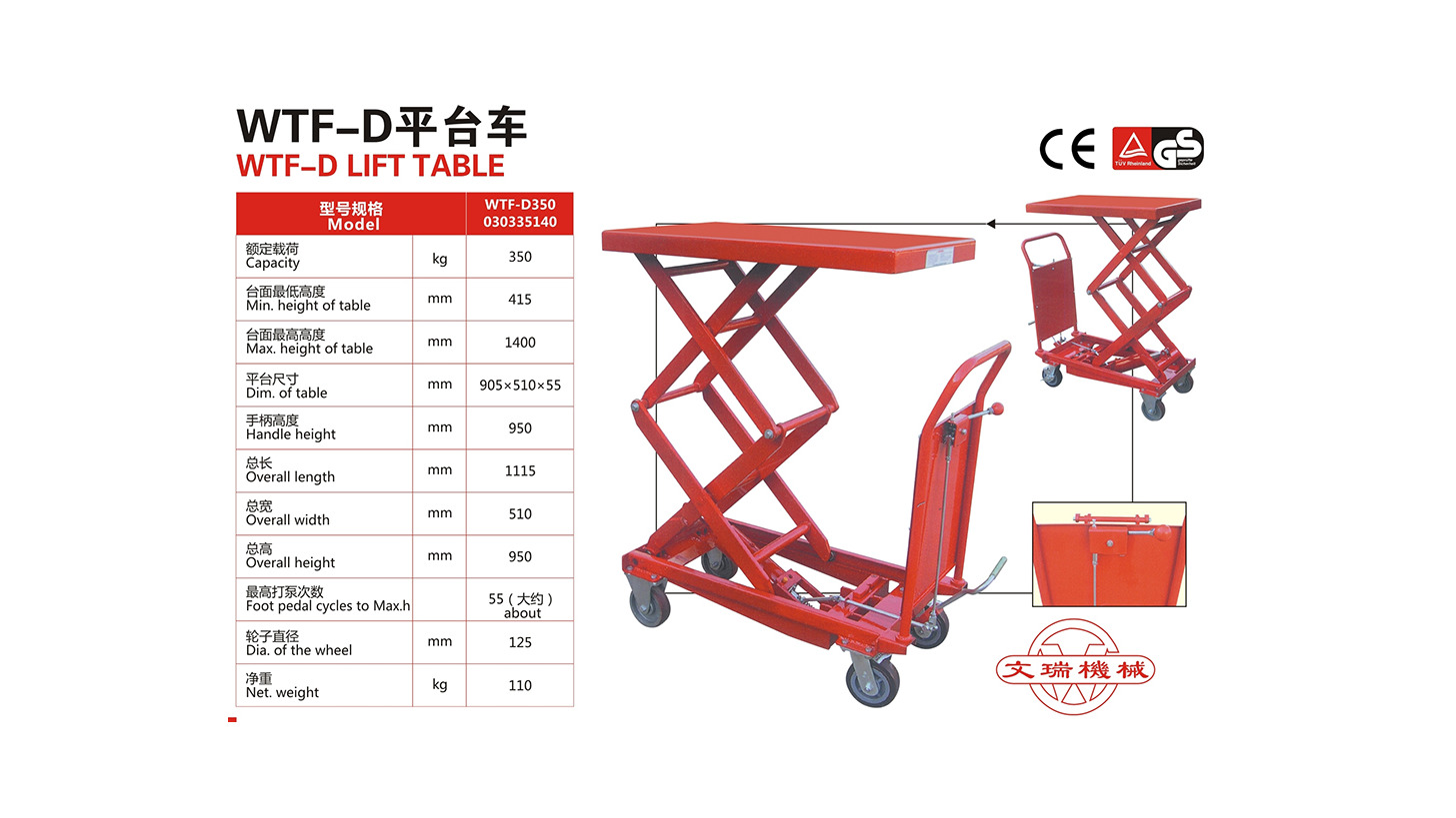 Logo Lift table