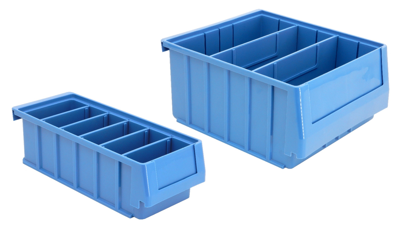 Logo Stackable Dividable Storage Bin