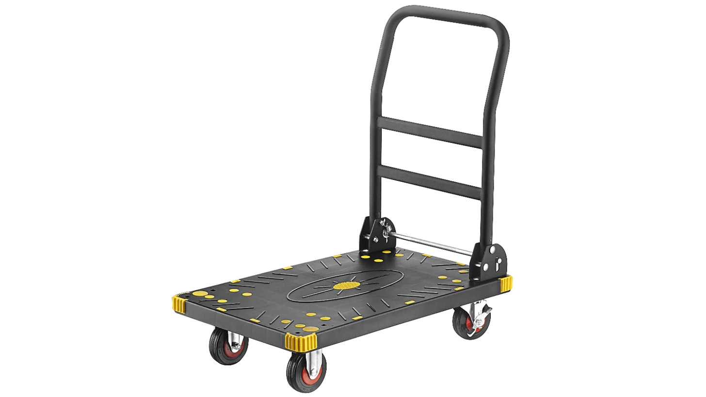 Logo Heavy-Duty Folding Platform Trolley