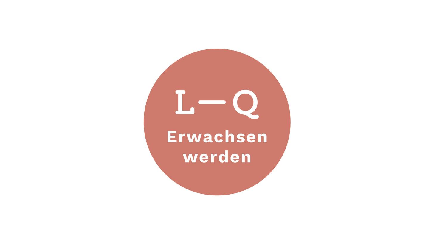 """Logo Lions-Quest """"Erwachsen werden"""""""