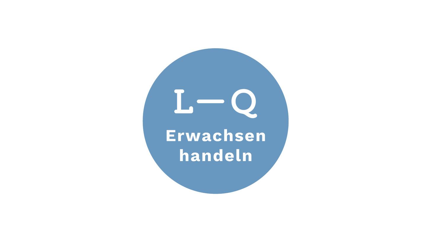 """Logo Lions-Quest """"Erwachsen handeln"""""""