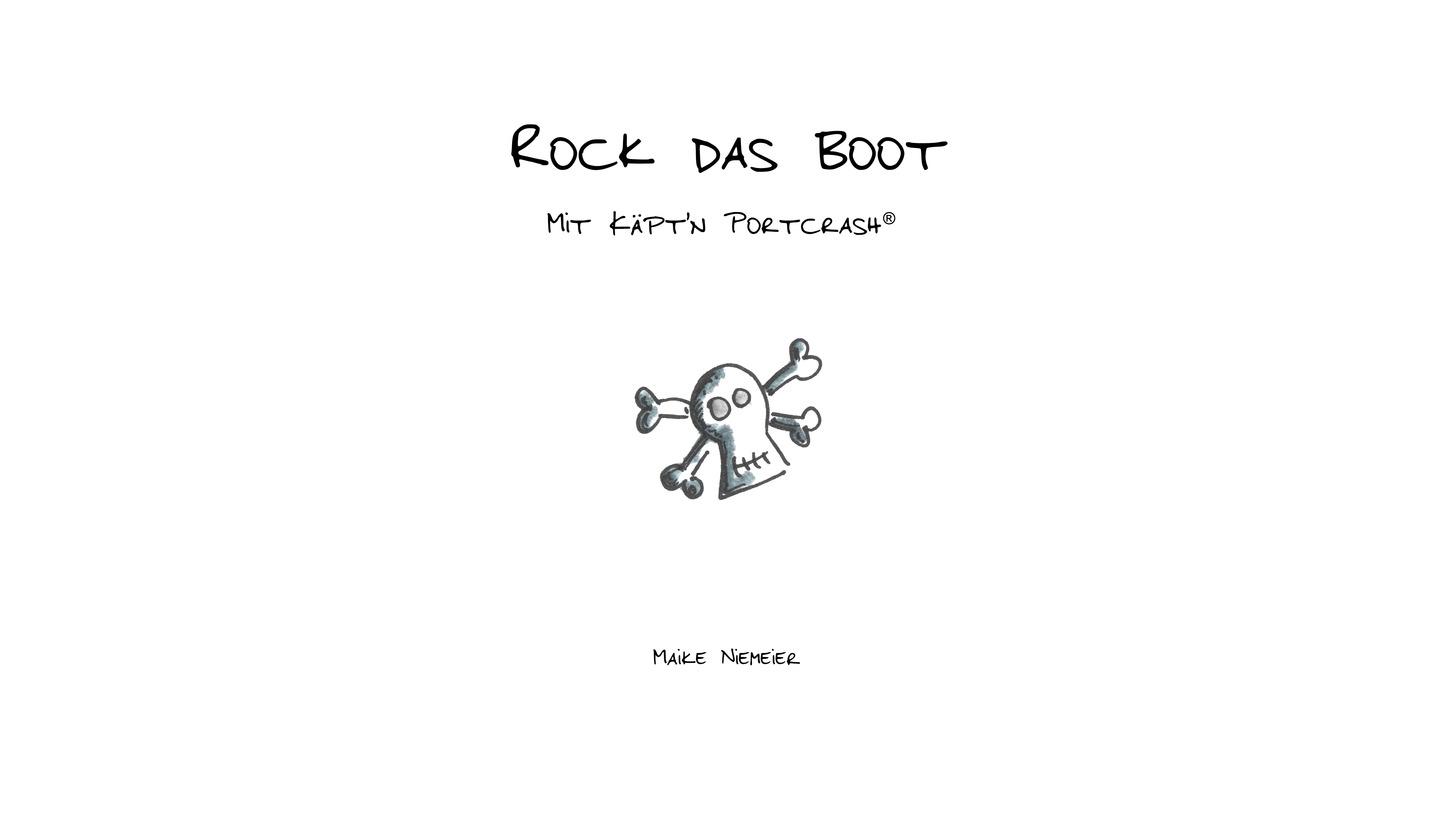 Logo Rock das Boot mit Käpt'n Portcrash