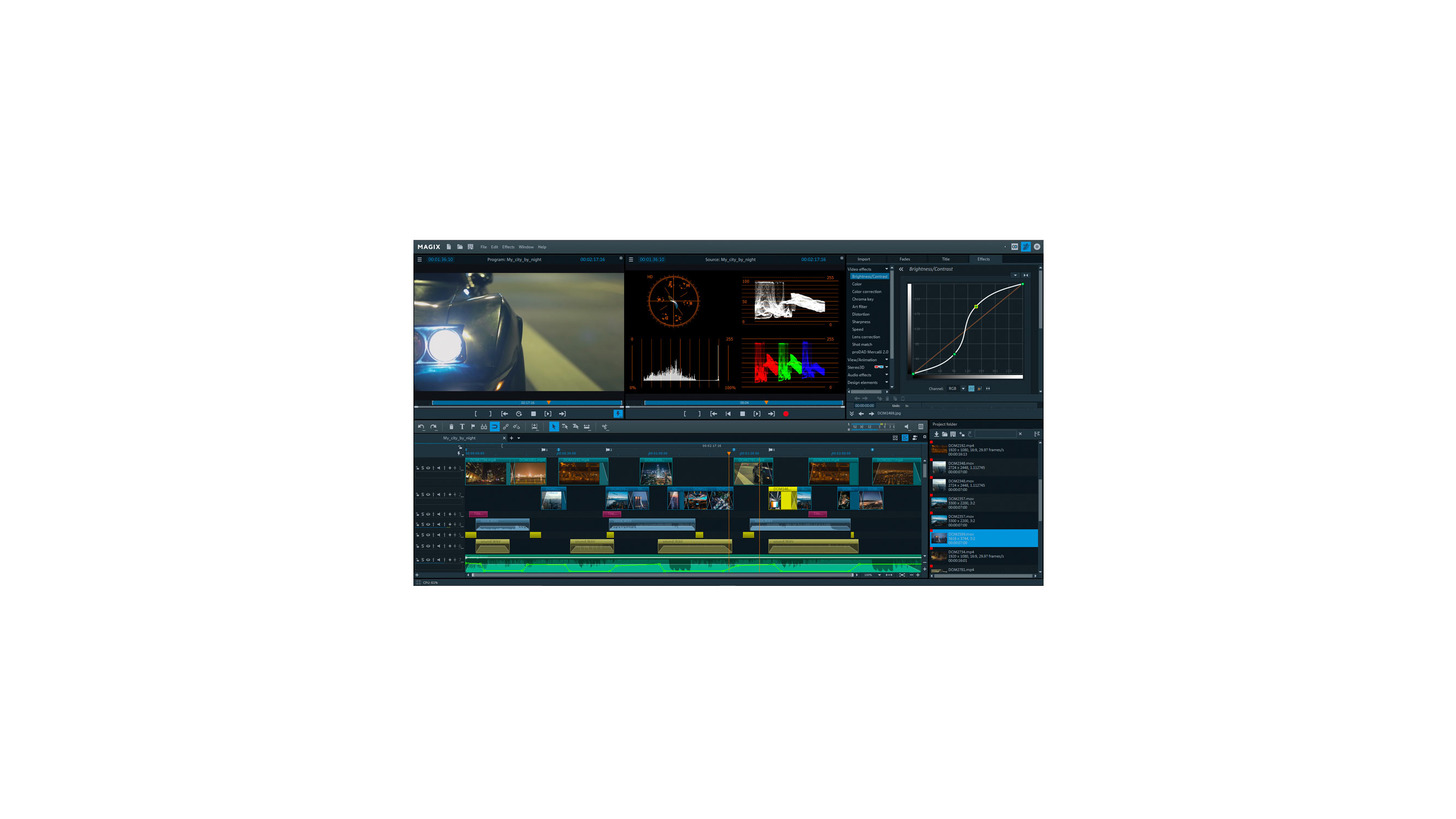 Logo MAGIX Video pro X