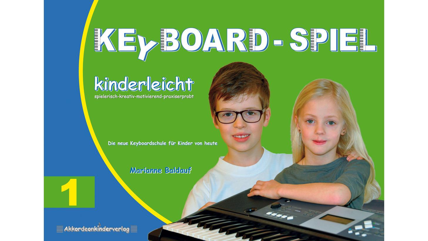 Logo Keyboard-SPIEL kinderleicht