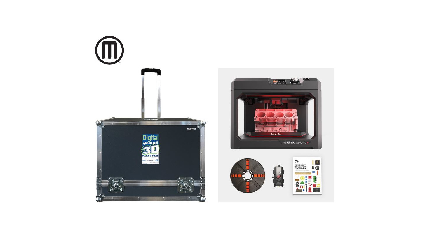 Logo MAKERBOT 3D PRINTER CASE