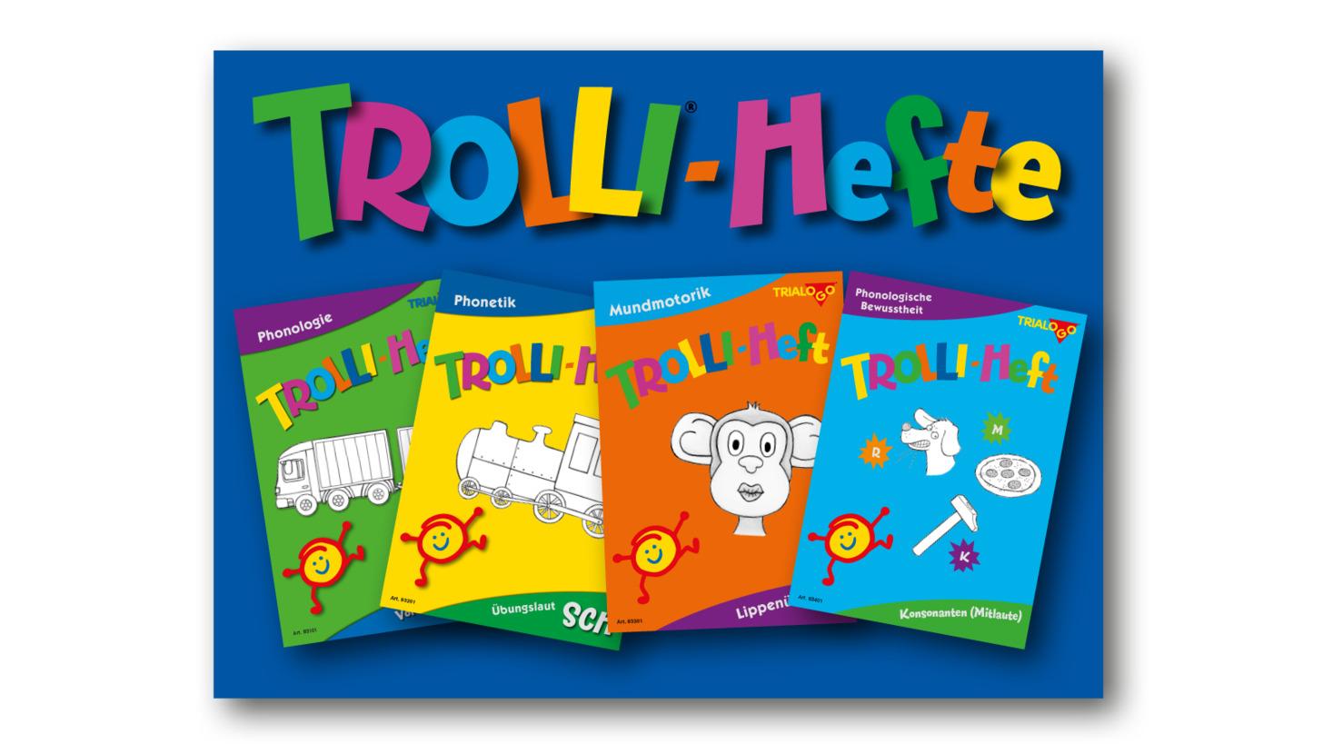 Logo TROLLI-Übungshefte