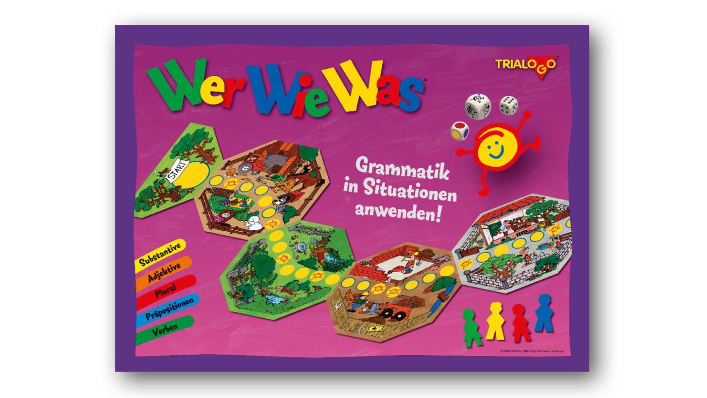 Logo WerWieWas - Das große Grammatikspiel