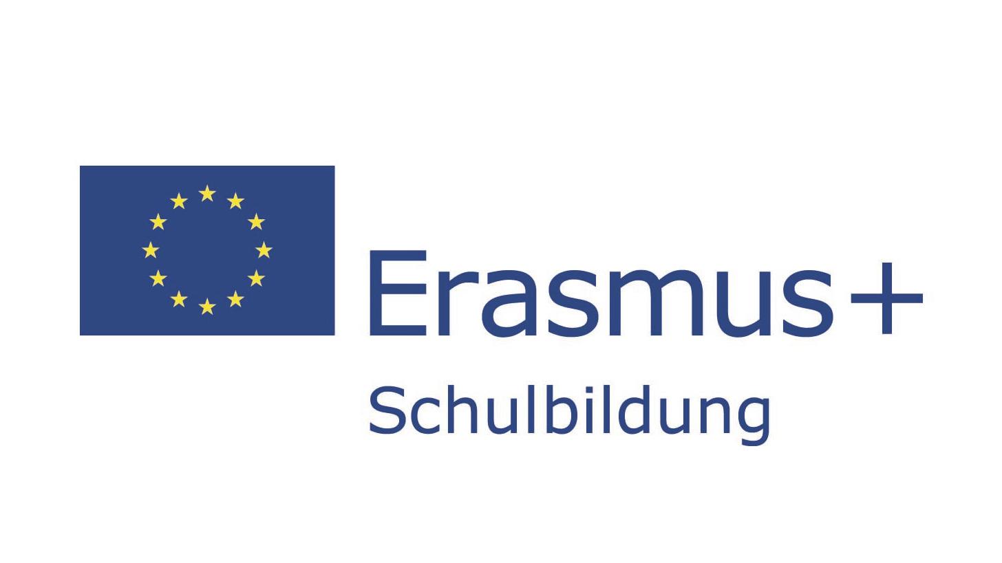 Logo Erasmus+ Schulbildung