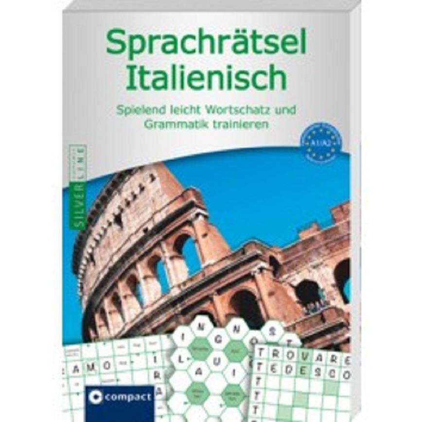 Logo Sprachrätsel Italienisch - Niveau A1/A2