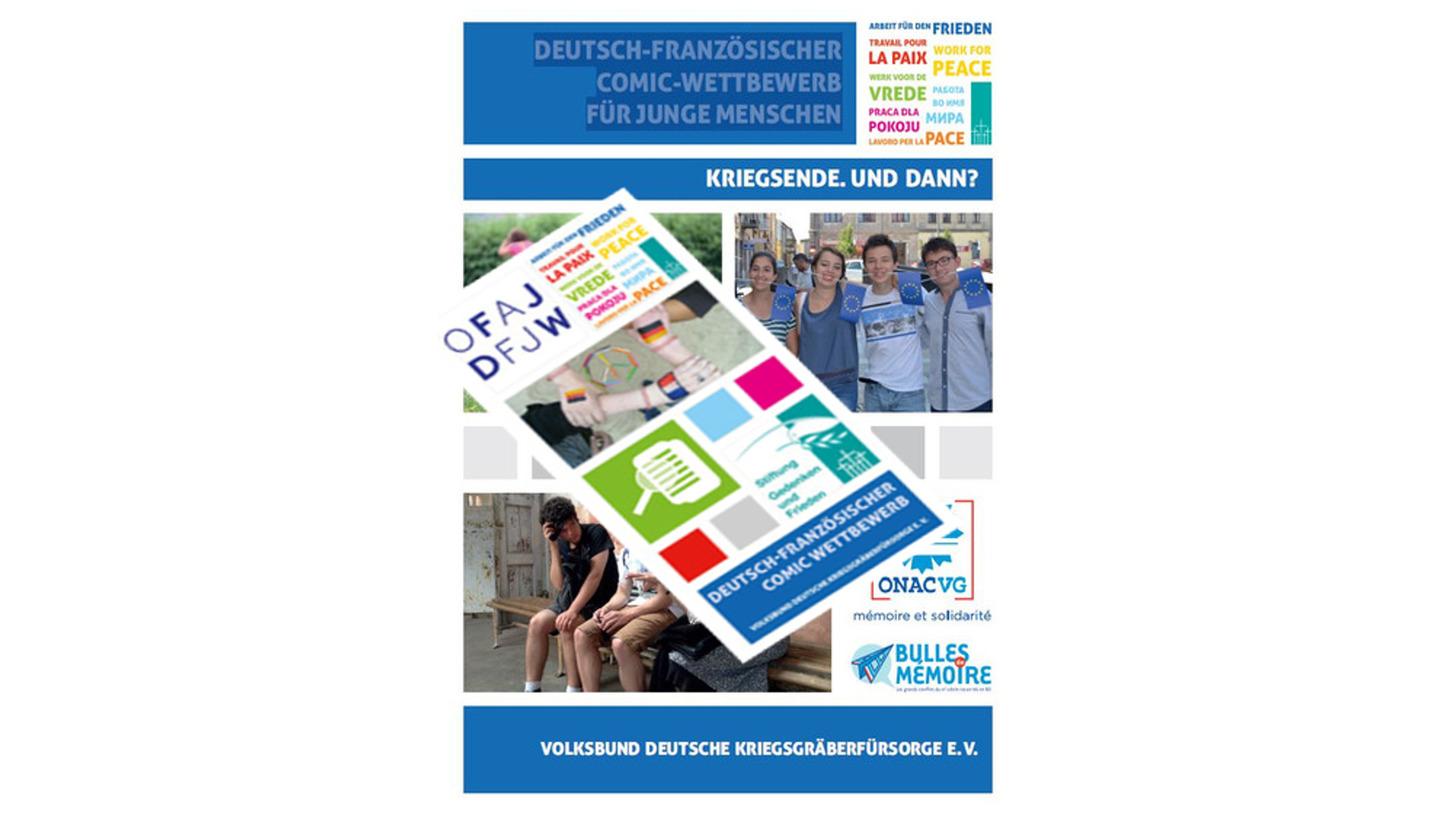 Logo Deutsch-französischer Comic Wettbewerb