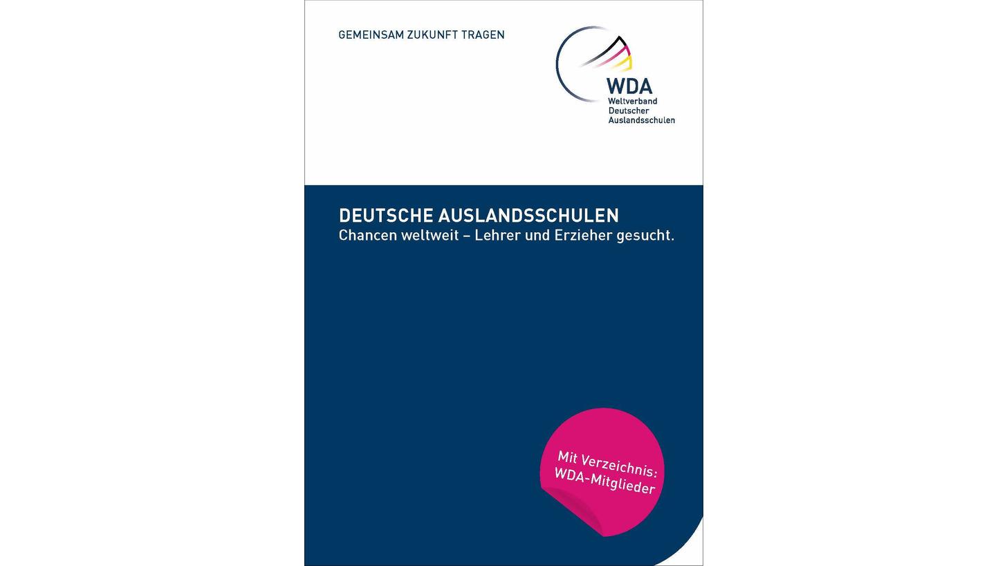 """Logo Broschüre """"Chancen weltweit"""""""