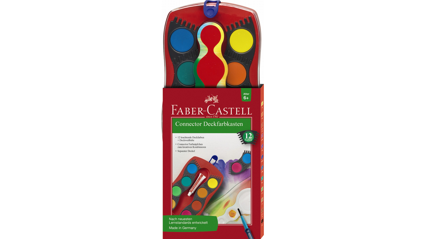 Logo Connector paint box 12 colours