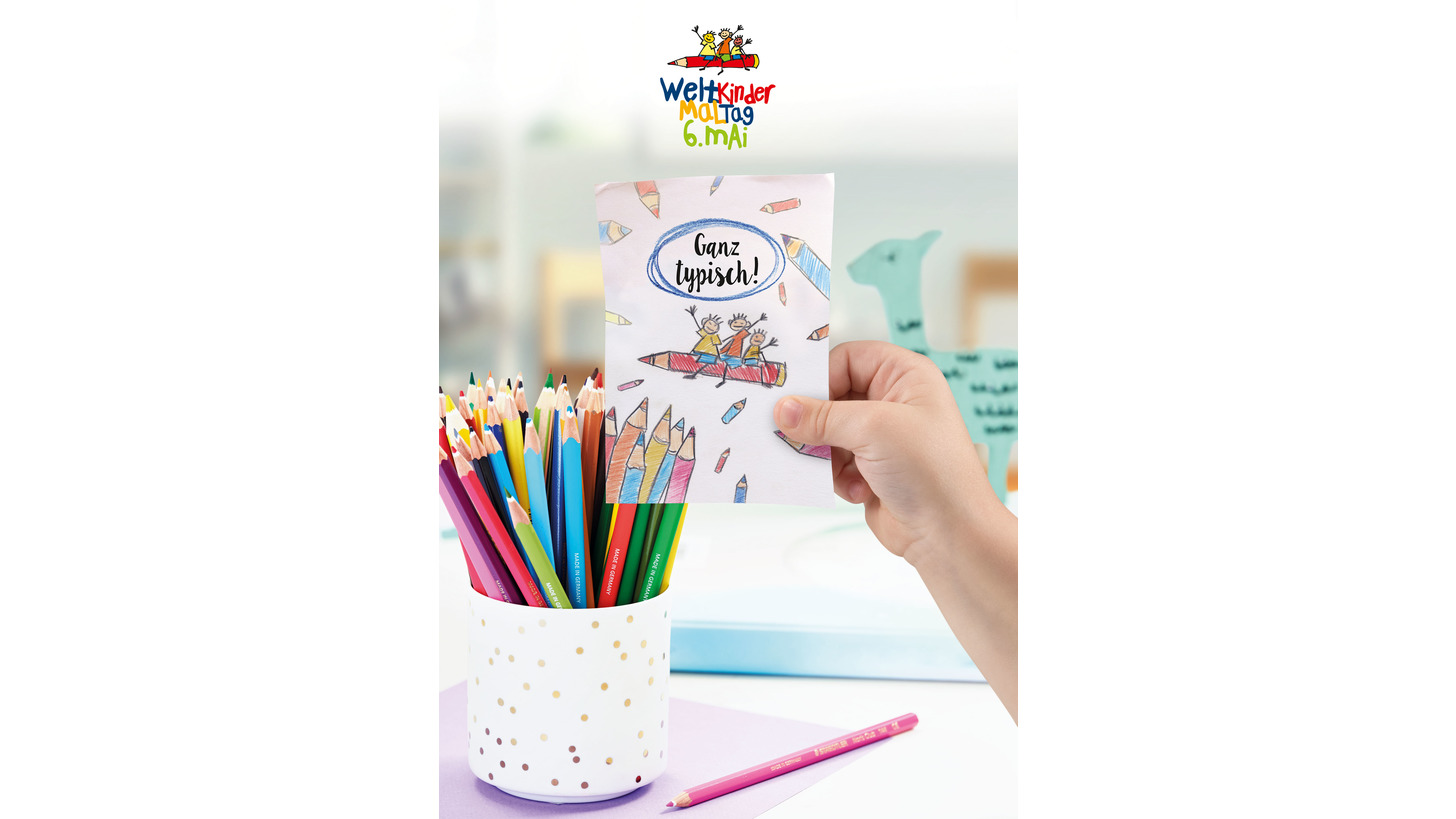 Logo World Kids Colouring Day 2018