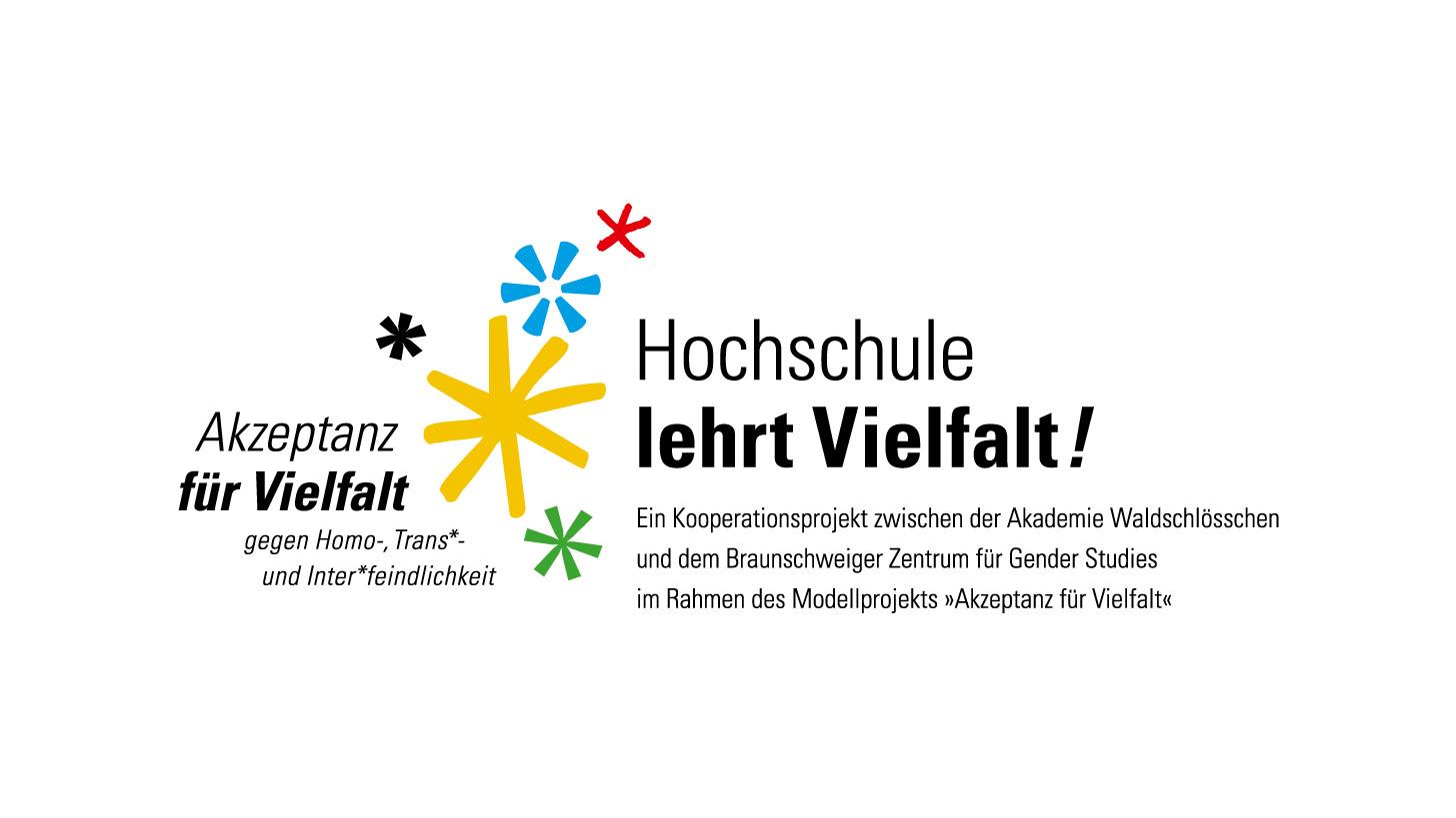 "Logo Projekt ""Hochschule lehrt Vielfalt"""