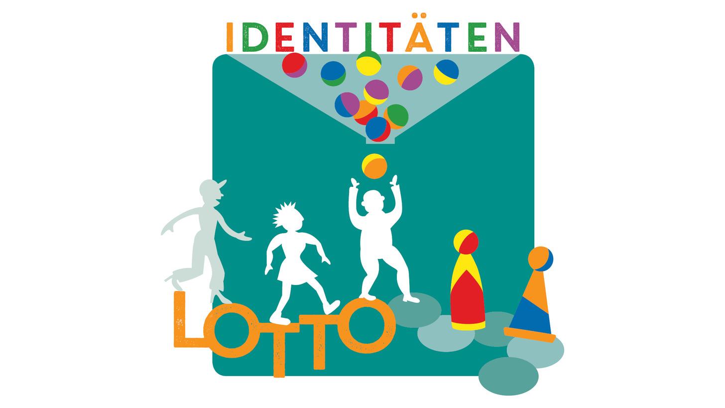 Logo Identitätenlotto.