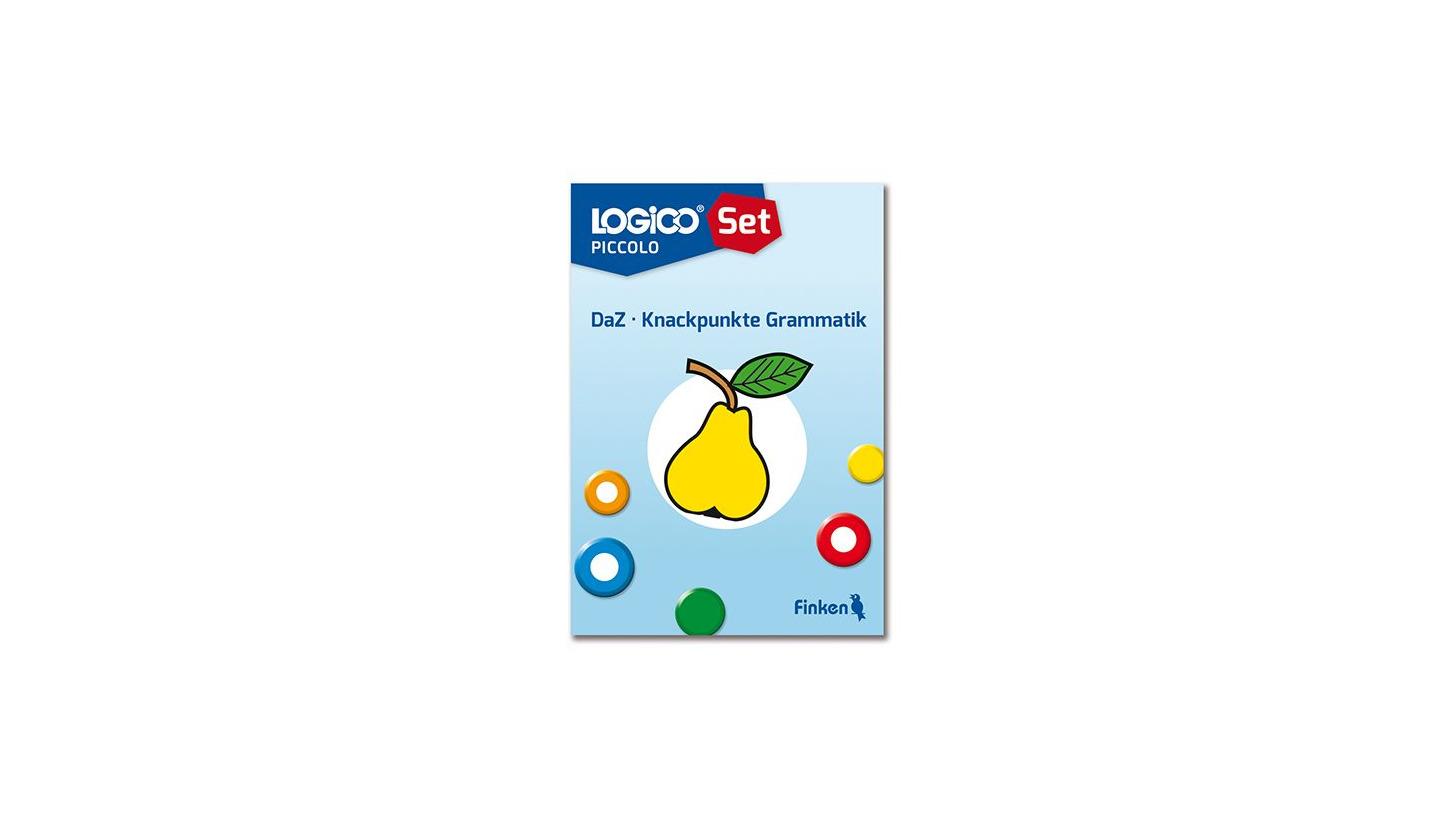 Logo LOGICO-Set DAZ - Knackpunkte Grammatik