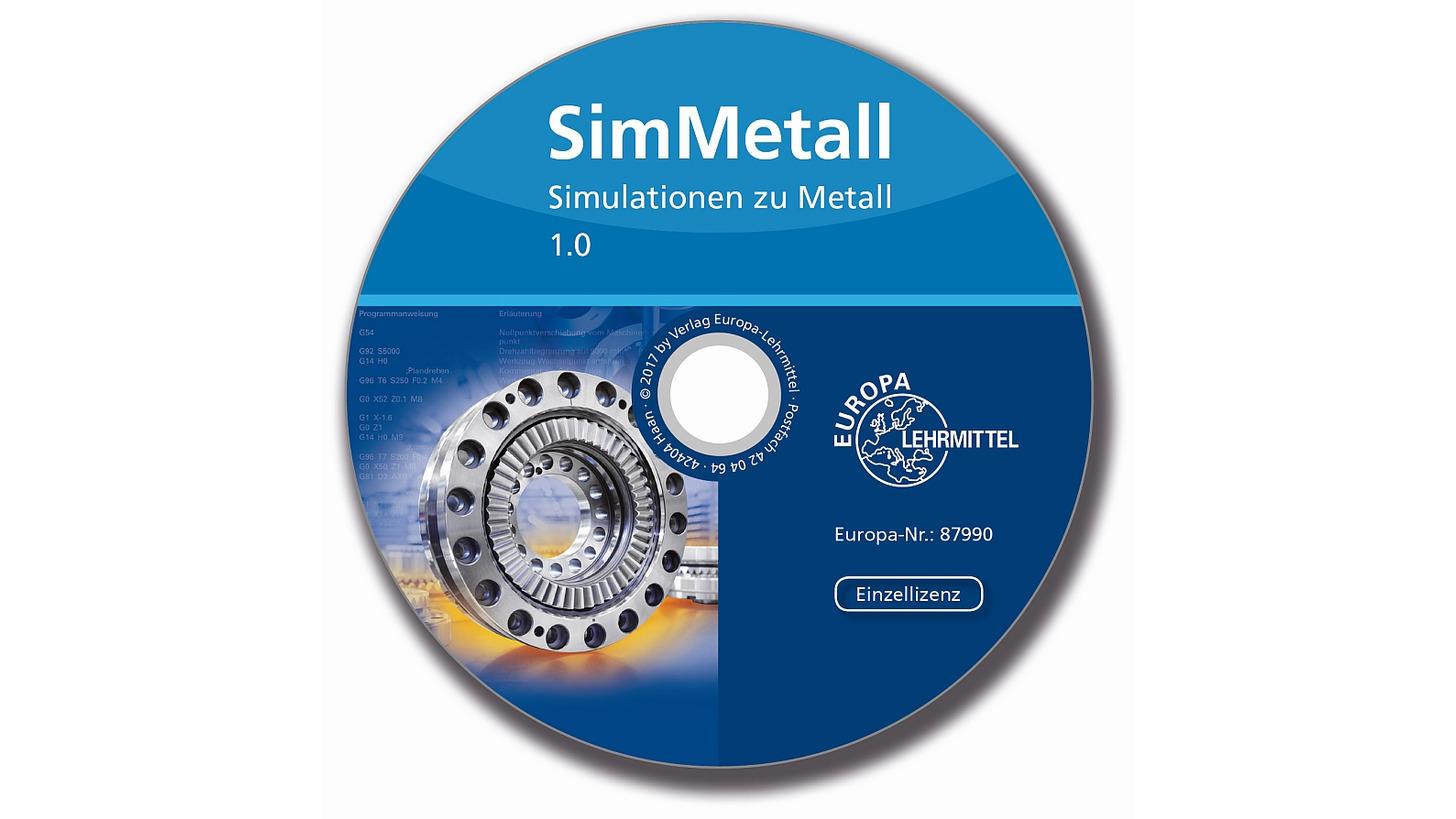 Logo SimMetall Simulationen zu Metall 1.0