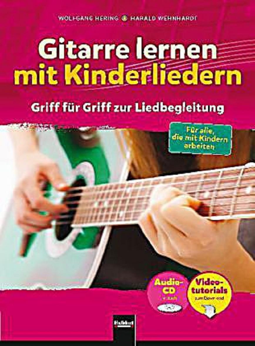Logo Gitarre lernen mit Kinderliedern