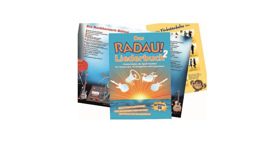 Logo Das RADAU! Liederbuch 2 mit Begleit-CD