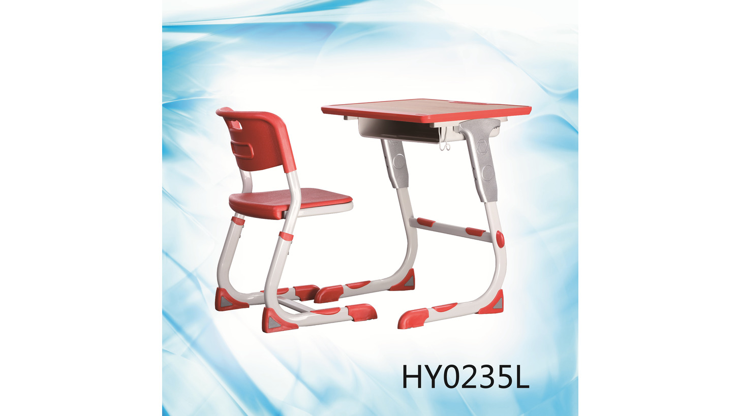 Logo HY-0359K adjustable student desk