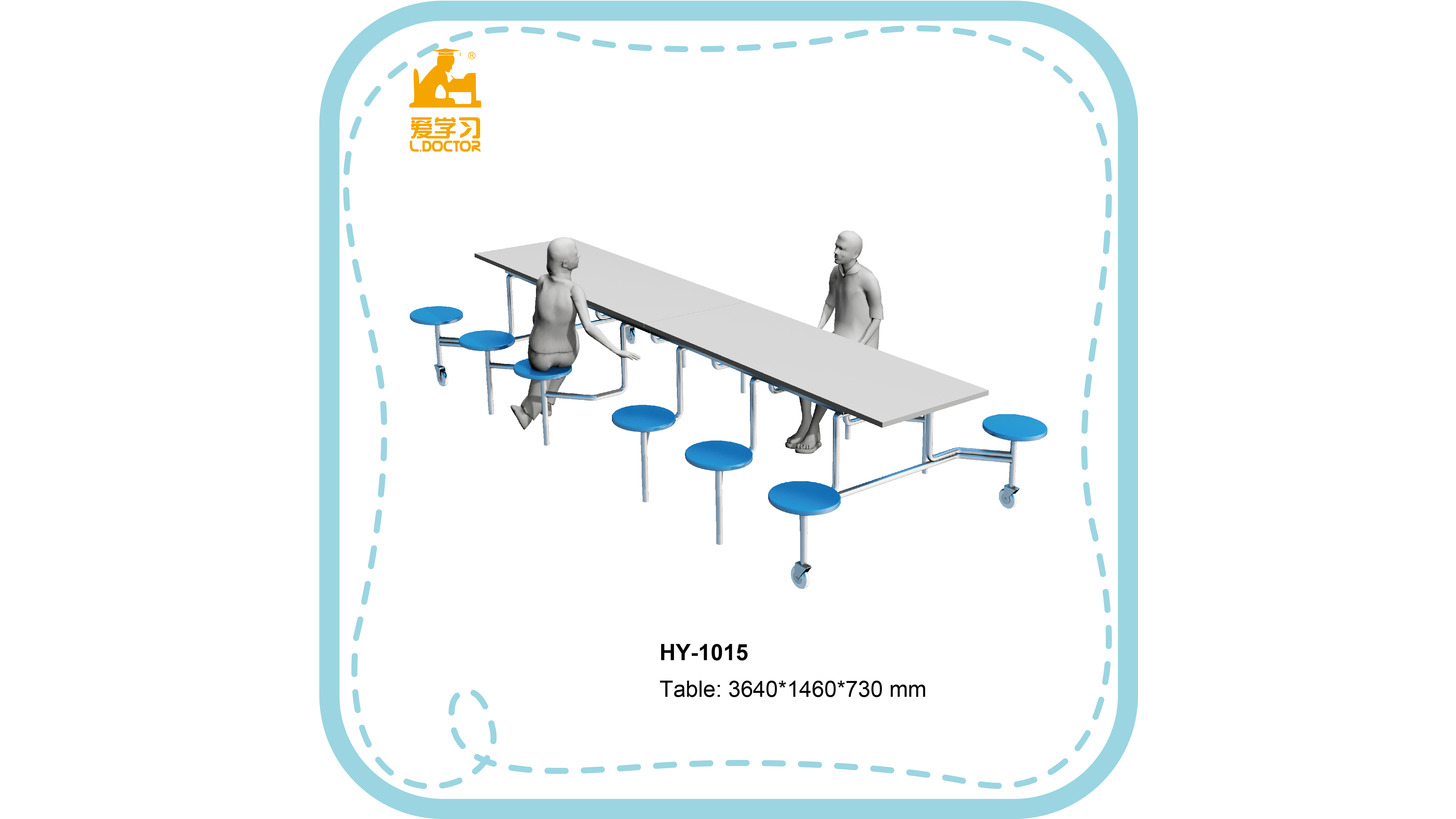 Logo HY-1015 dining table