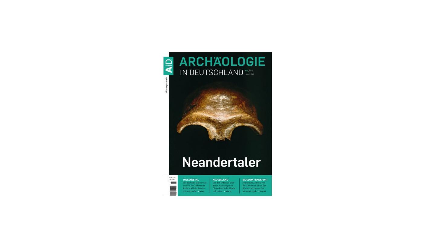 Logo Archäologie in Deutschland