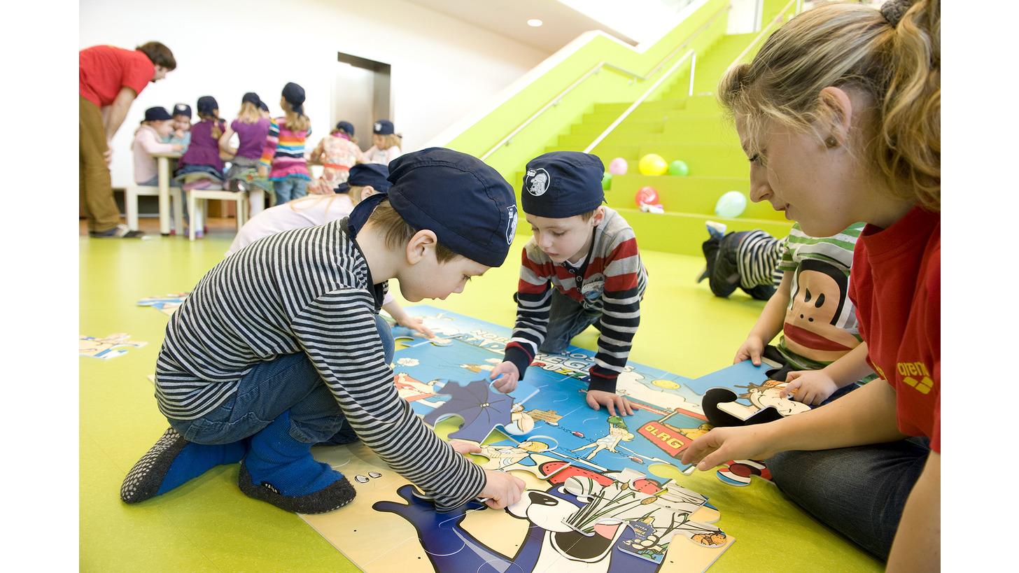 Logo DLRG/NIVEA-Kindergartentag