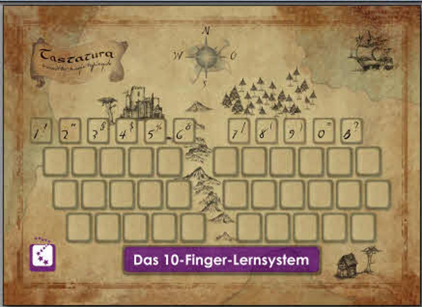 Logo ritter magic typing