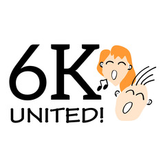 6K UNITED