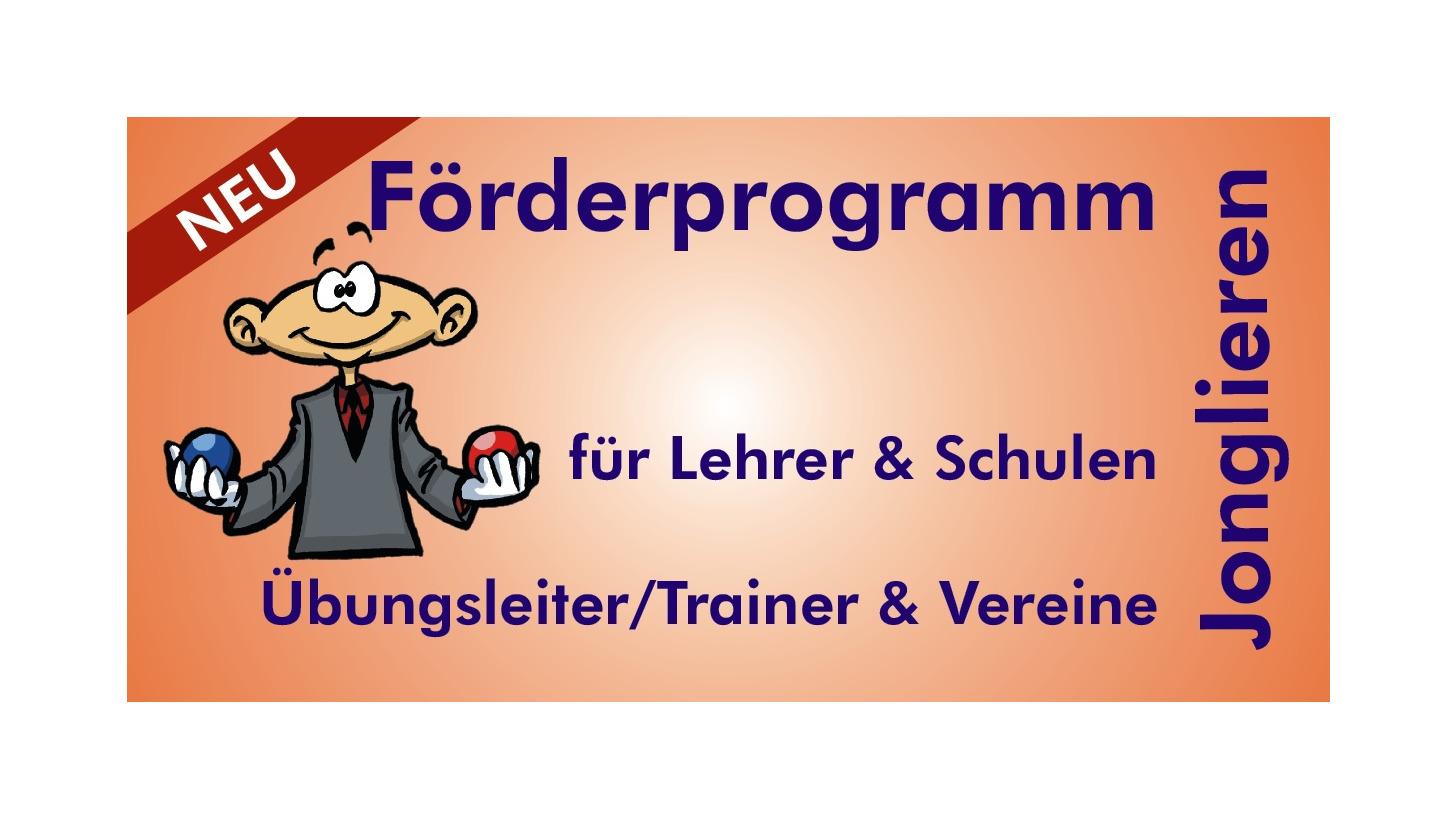 Logo Förderprogramm JONGLIEREN für Schulen