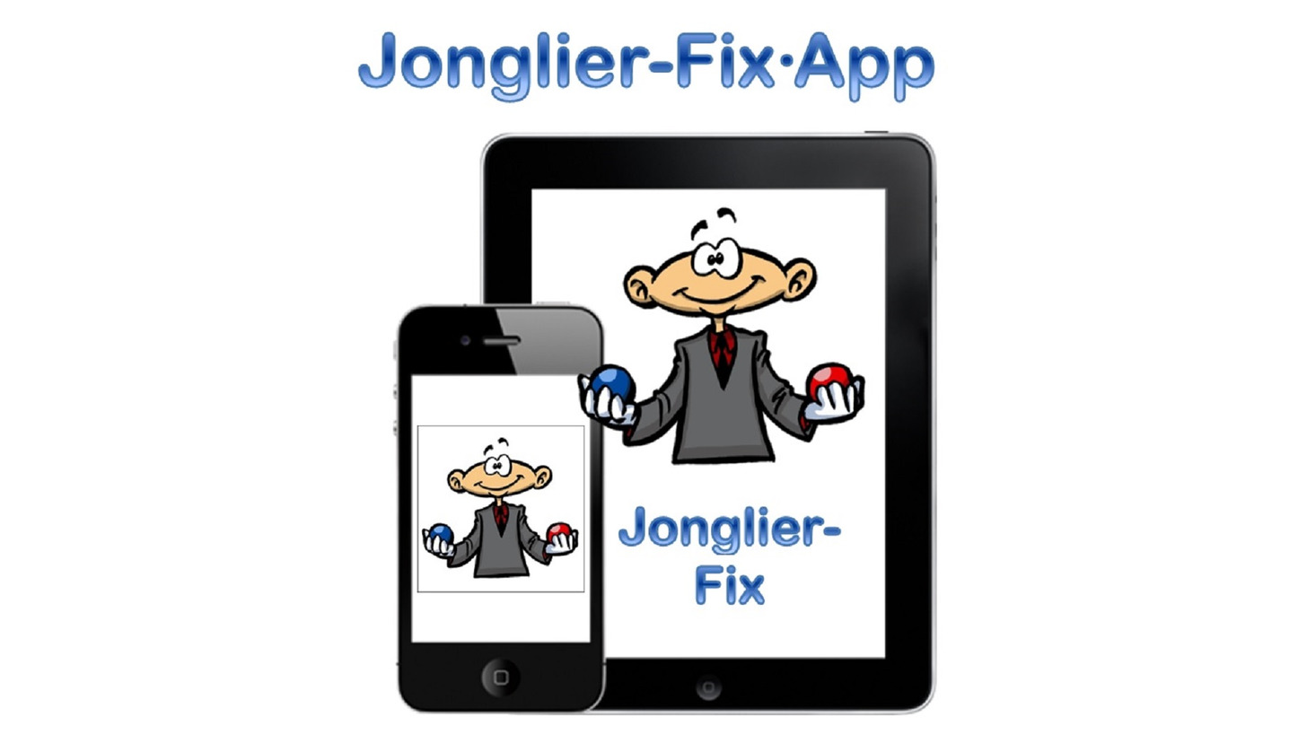 Logo Jonglieren lernen mit Jonglier-Fix-App