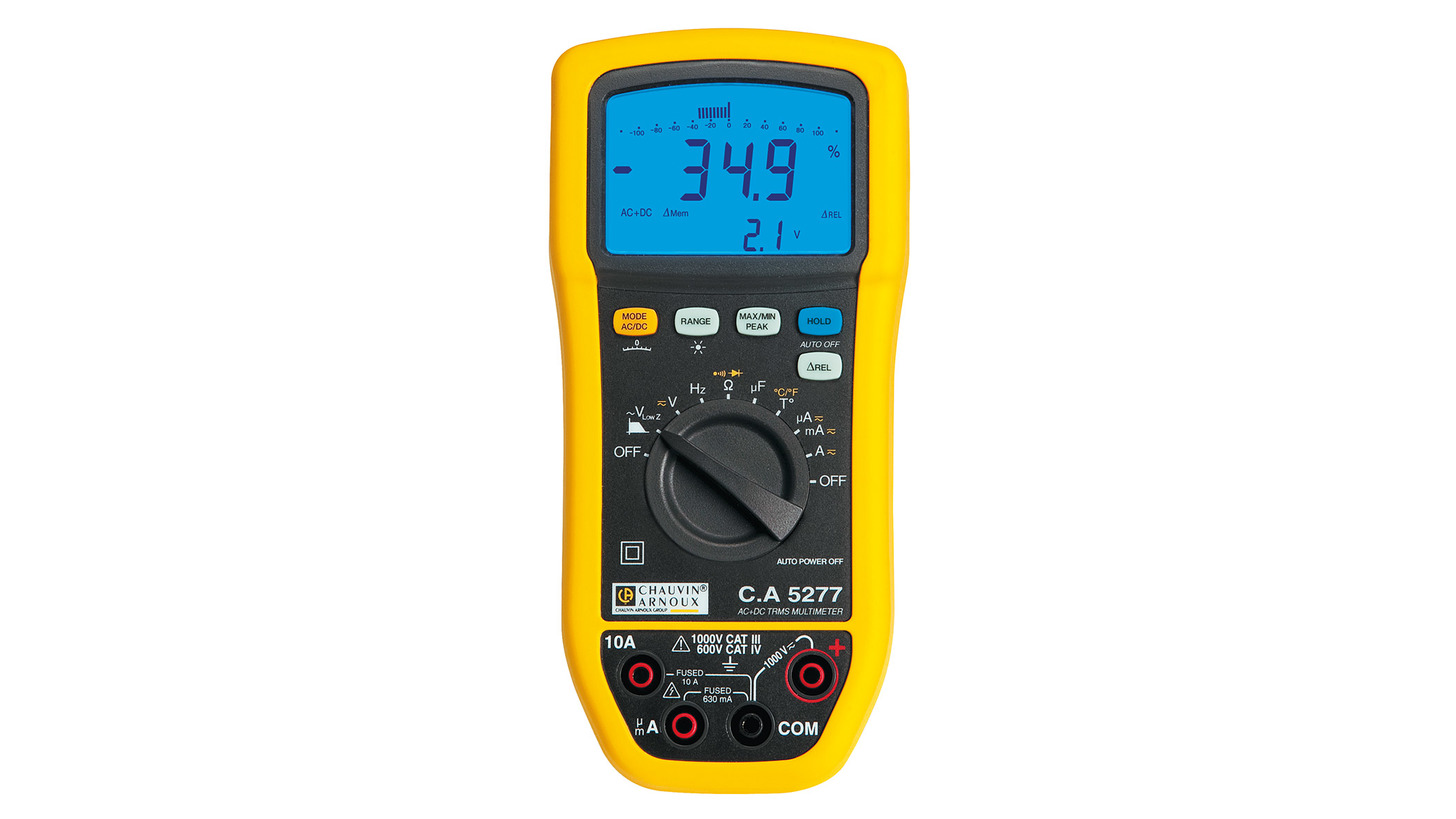 Logo Digital multimeter C.A 5277