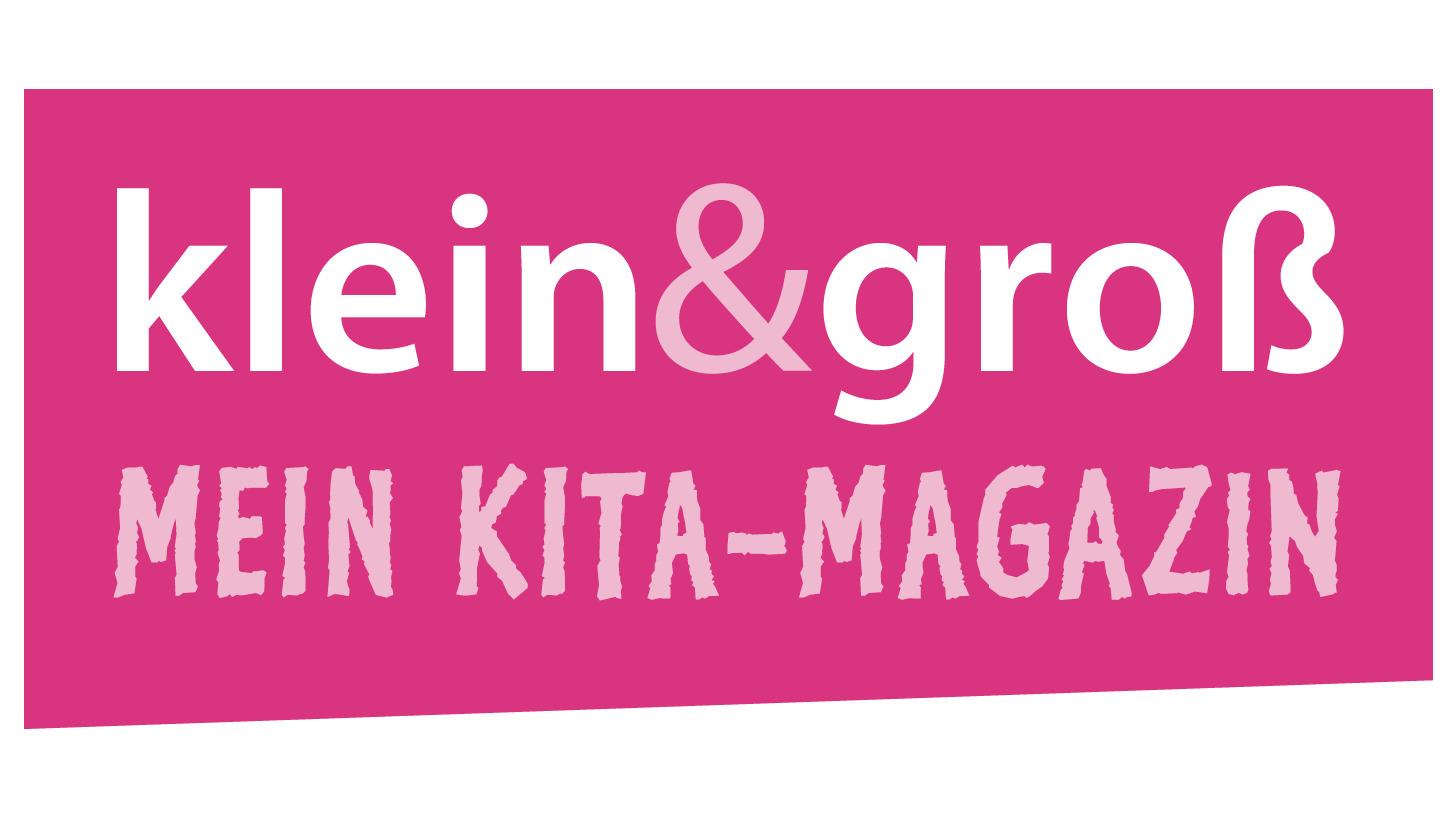 Logo klein&groß - Mein Kita-Magazin