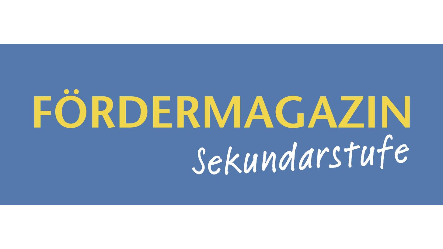 Logo Fördermagazin Sekundarstufe