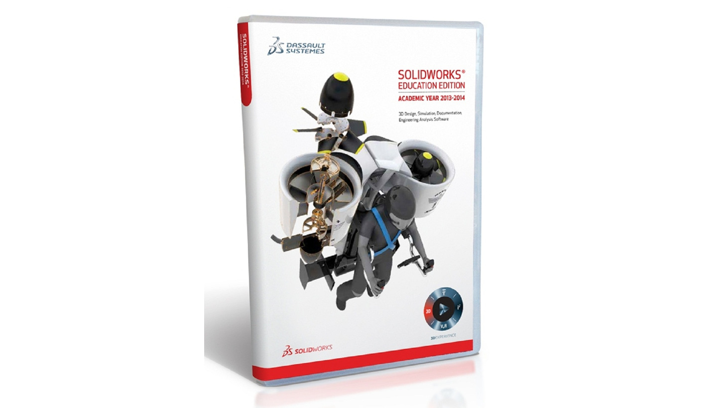 Logo SolidWorks Lehr-Edition 2014-2015