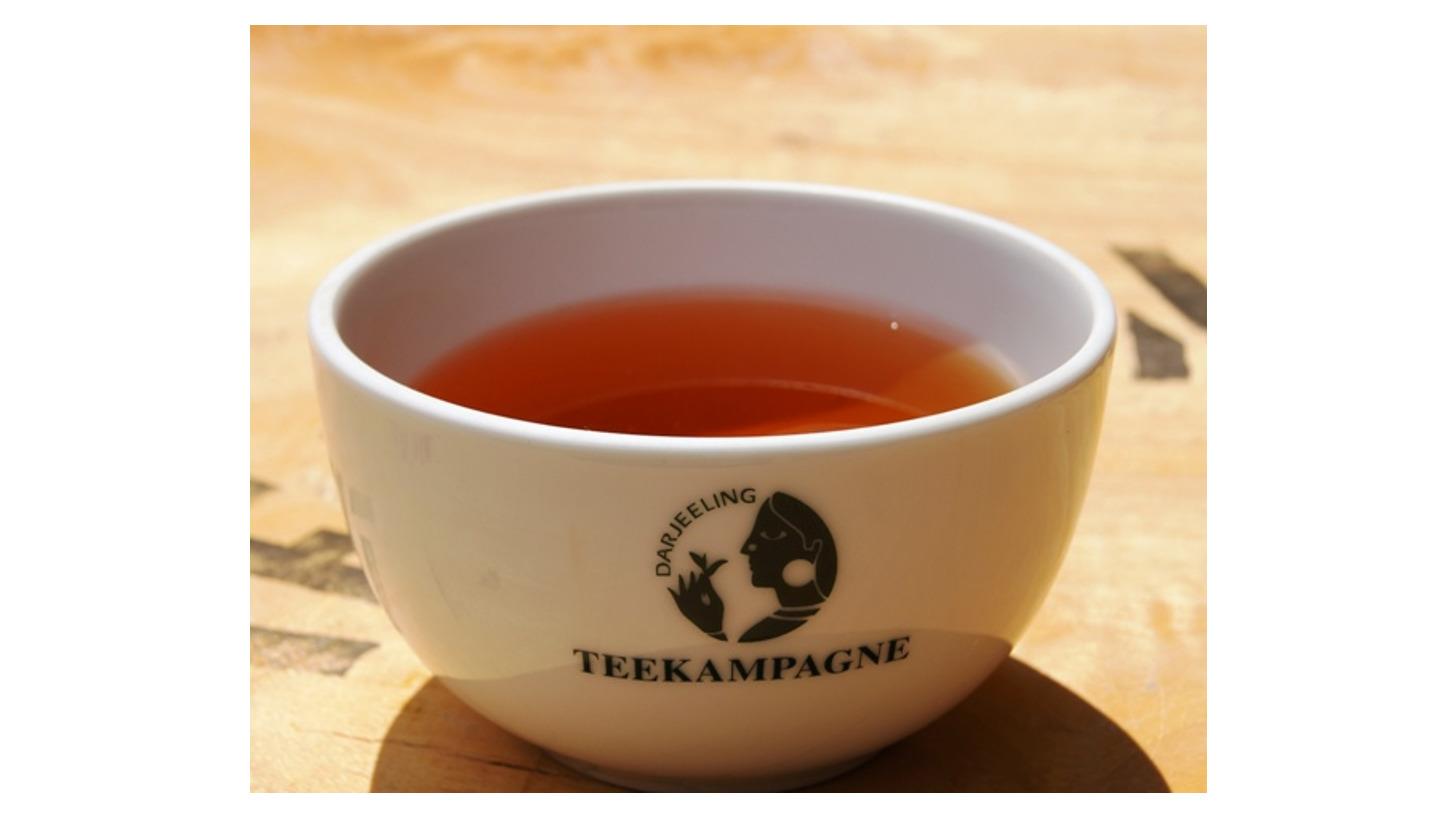Logo Bio-Tee aus Darjeeling und Assam