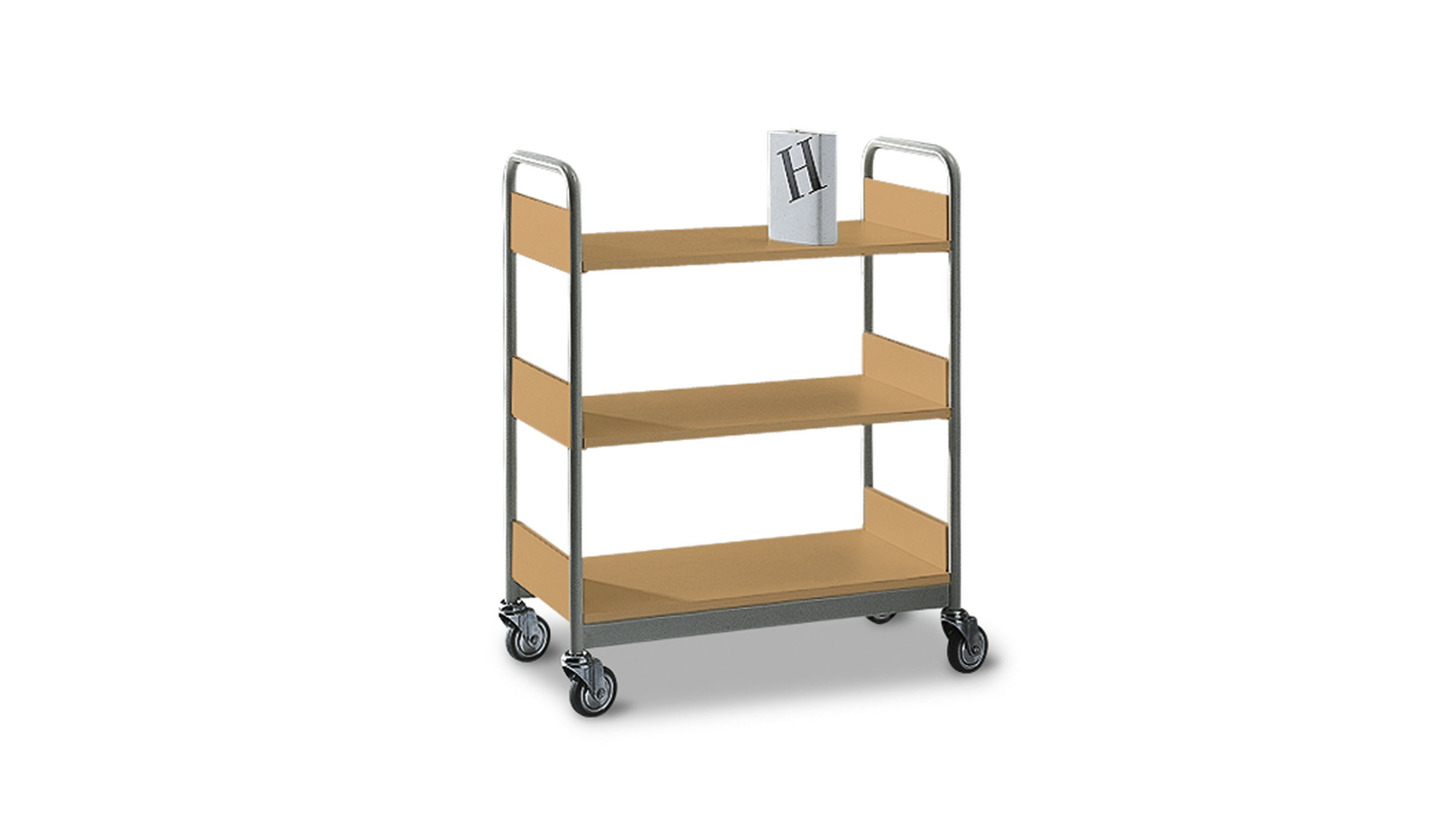 Logo library trolleys