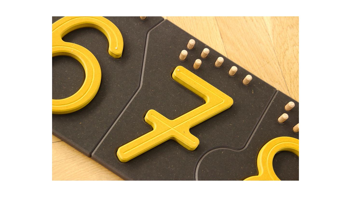 Logo Zahlen mit Tastrille