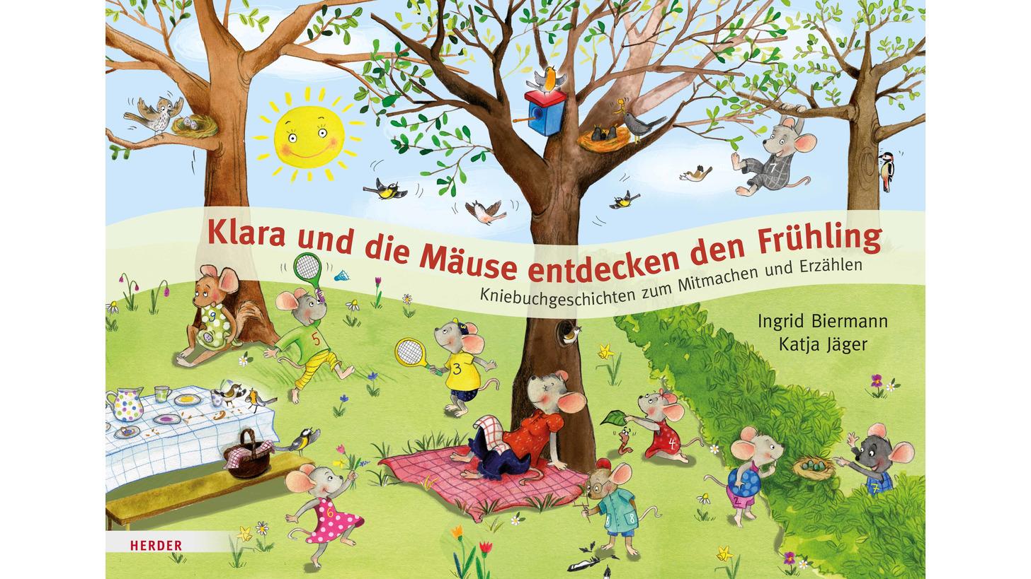 Logo Klara und die Mäuse_Frühling