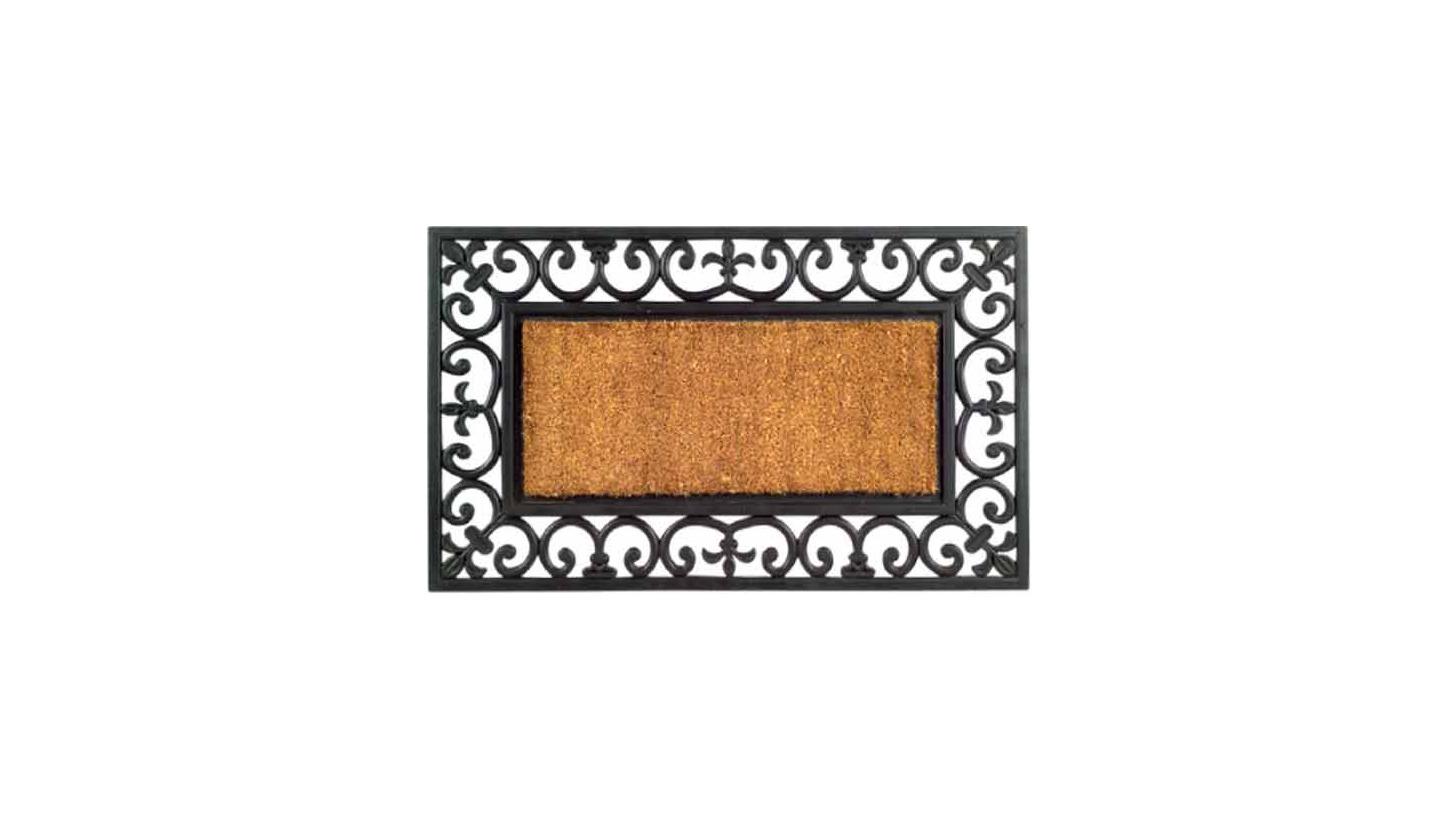 Logo Coir / Rubber Inlay