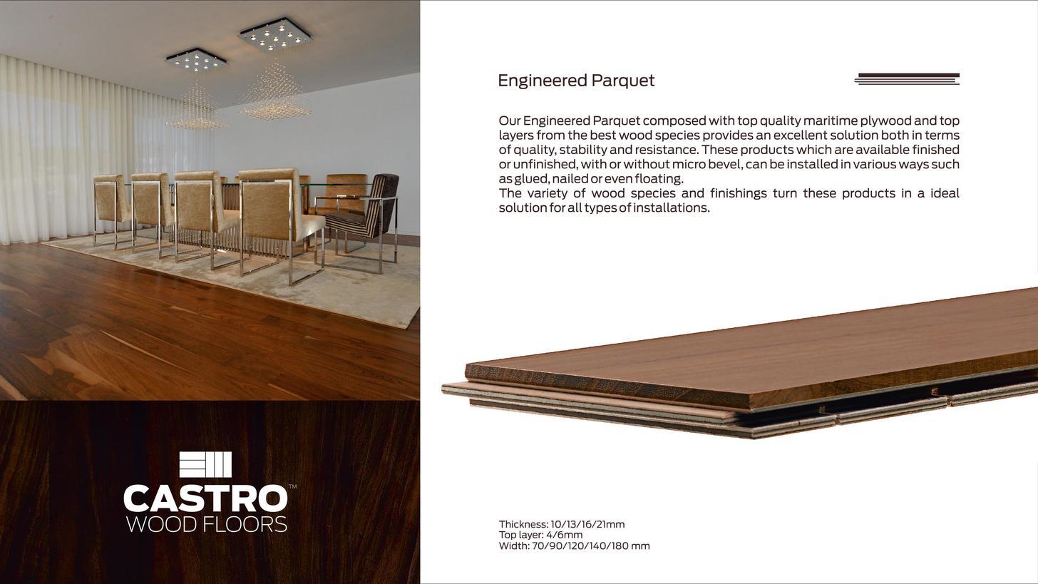 Logo Engineered wood flooring