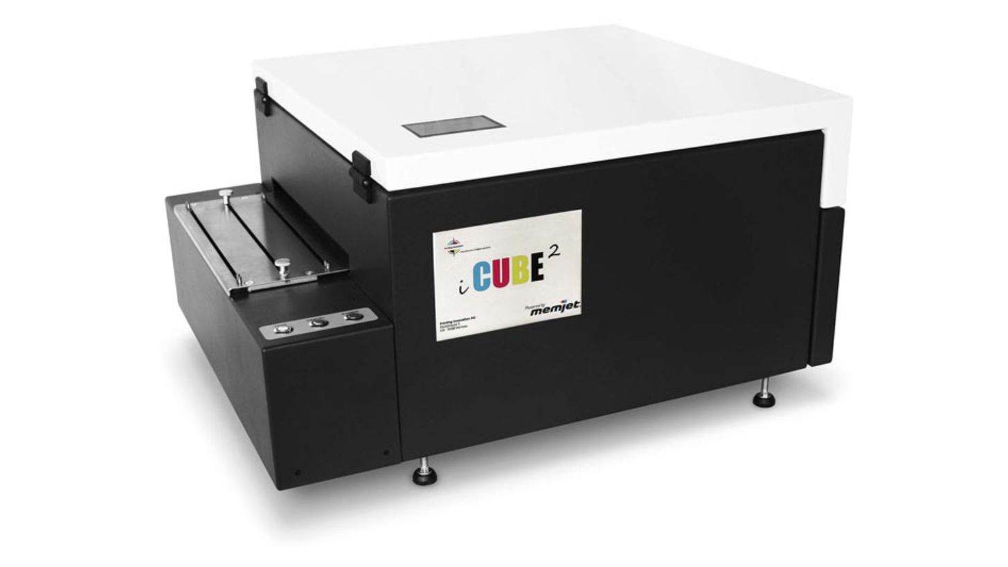 Logo iCube 2 Digital Printer
