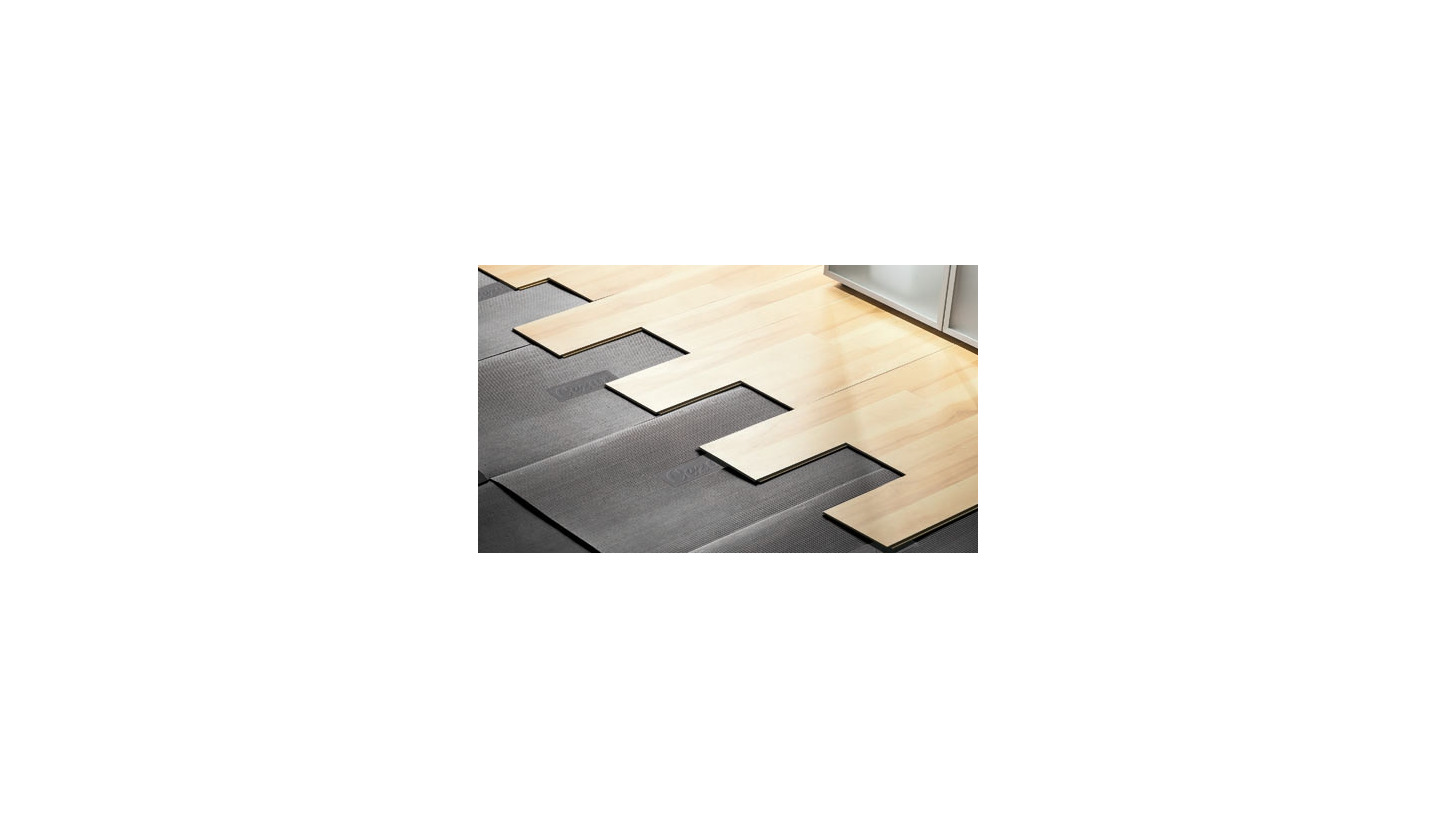 Logo Underlays for laminates and othe rtypes of floors