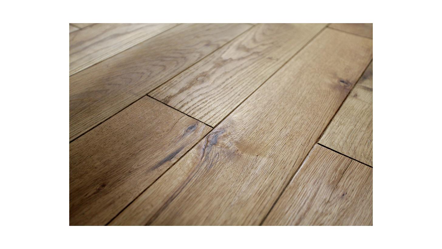 Logo Rustic wooden floor