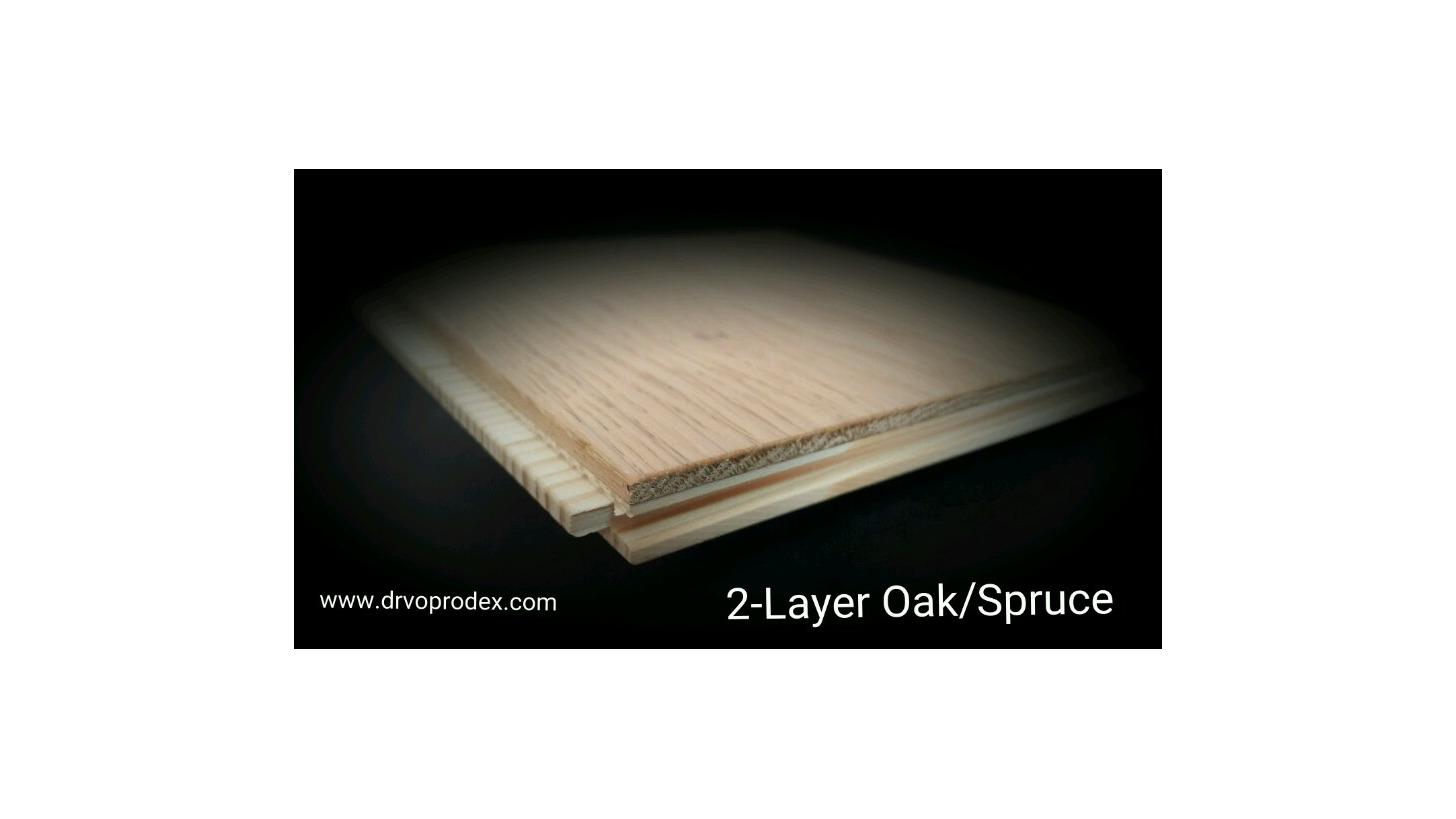 Logo Two-layer floorings