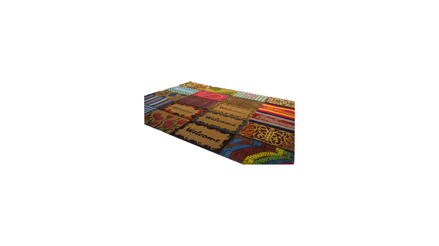 Logo Jute Rugs and Rolls