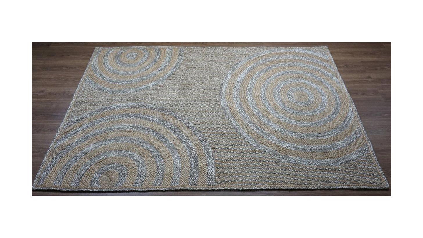 Logo braided rugs