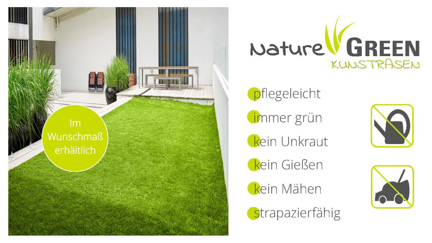 Logo Nature GREEN Artificial lawn
