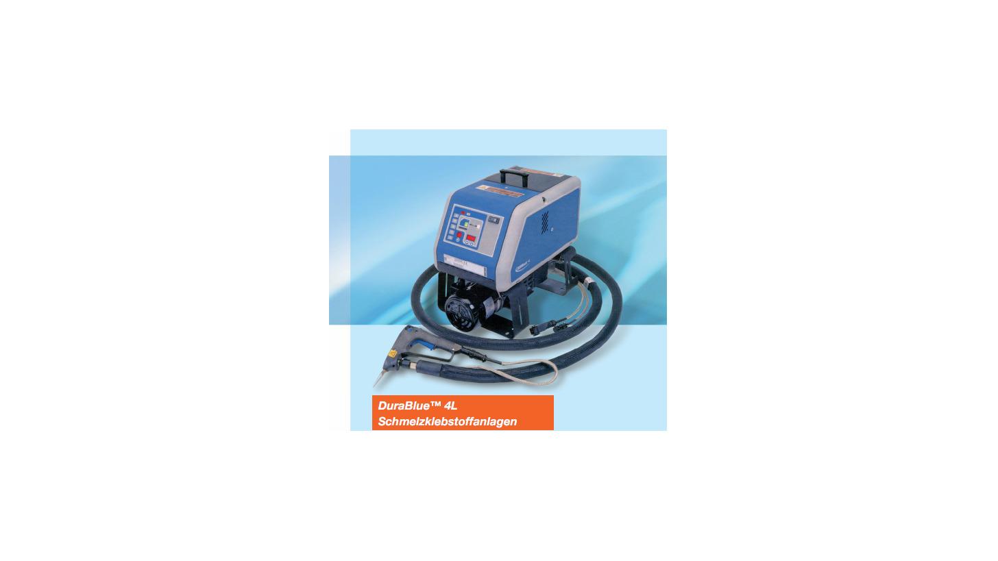 Logo DuraBlue Adhesive Melter Systems
