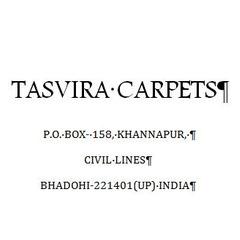 Tasvira Carpets